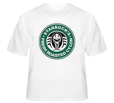 Battlestar Gallactica Starbucks Funny T Shirt Sizes Small to 5XL