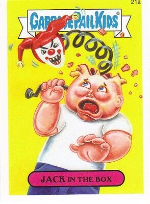 2015 Garbage Pail Kids Series One #21a Jack in the Box