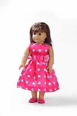 new Handmade cute dress clothes for 18 inch American Girl Doll b141