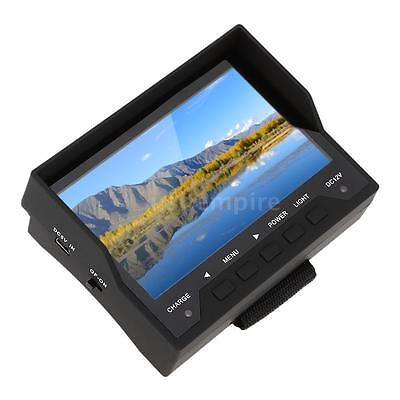 """4.3"""" TFT LED LCD Portable Audio Video Security Tester CCTV Camera Test Monitor"""
