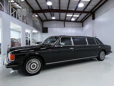 Rolls-Royce : Other ONE OWNER FROM NEW! ONLY 11,959 ACTUAL MILES! 1986 rolls royce silver spur factory limousine 1 of 16 factory limo s from 86