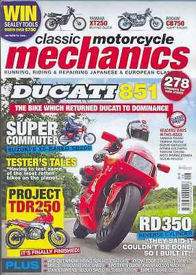 CLASSIC MOTORCYCLE MECHANICS Magazine-ALL 12 ISSUES FROM 2012 (NEW COPIES)