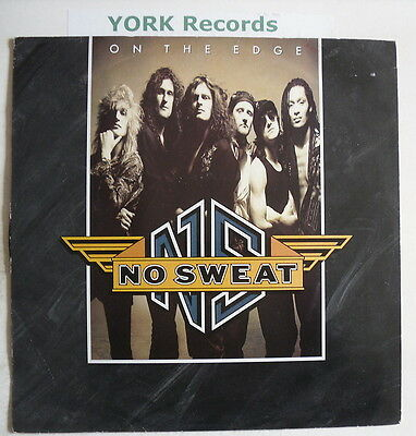 """NO SWEAT - On The Edge - Excellent Condition 12"""" Single"""