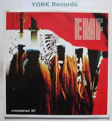 "EMF - Unexplained EP - Excellent Condition 12"" Single"