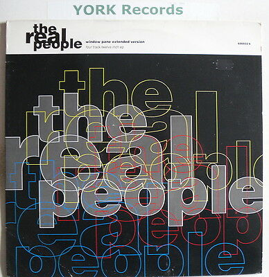 "REAL PEOPLE - Window Pane - Excellent Con 12"" Single"
