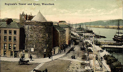Waterford. Reginald's Tower & Quay by T. Getz & Co., Waterford.
