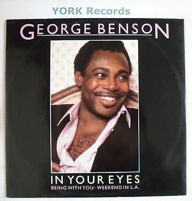"""GEORGE BENSON - In Your Eyes - Excellent Con 12"""" Single"""