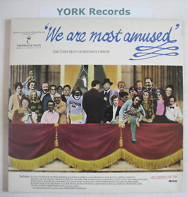 WE ARE MOST AMUSED - Comedy - Ex Double LP Record