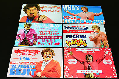 Mrs Browns Boys Adult Humour Novelty Postcards.