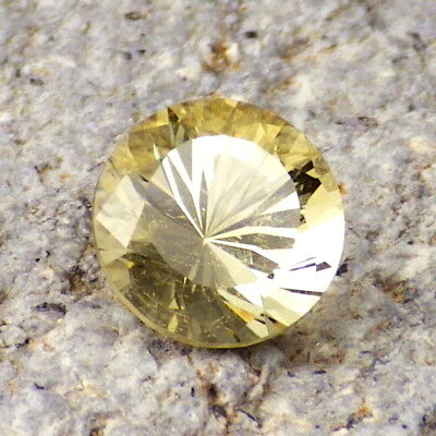 GOLDEN BERYL-BRAZIL 1.76Ct BEAUTIFUL NATURAL UNTREATED COLOR-COLLECTOR GRADE!