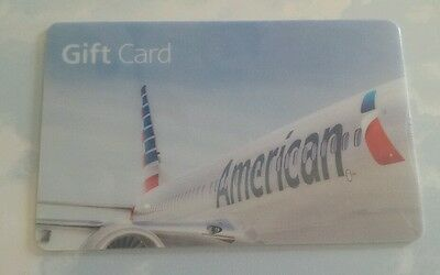 $300 American Airlines gift card ~ New and unused ~ Certificate amount verified