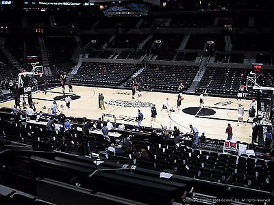 2 San Antonio Spurs vs. Phoenix Suns Tickets Lower Level 4/12 WITH FREE SHIPPING