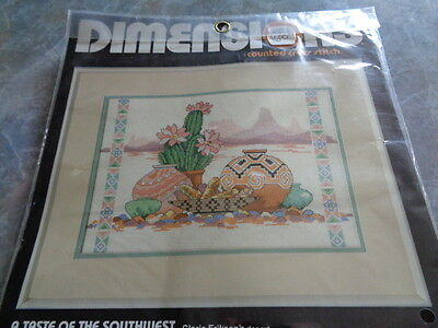 Dimensions Counted Cross Stitch - A Taste of the Southwest