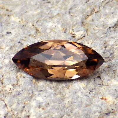 ZIRCON HYACINTH-RUSSIA 2.13Ct FLAWLESS-FOR BEAUTIFUL JEWELRY-PRECISION FACETING!