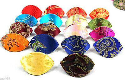 Wholesale 10PCS Mix Color Embroidered Silk Bag/Purse Jewelry Coin Ring Bag Boxes
