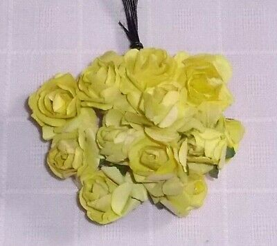 VINTAGE Parchment TINY roses cluster DOLL CLOTHES Alexander /& Ginny BLACK