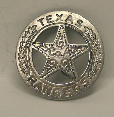 Texas Ranger Co A Peso Repro Old West Texas Badge