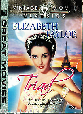 The Last Time I Saw Paris, Father's Little Dividend, Life With Father (DVD 2004)