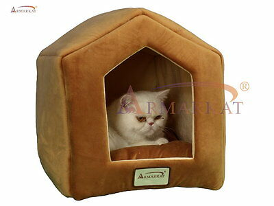 2012 New Style Armarkat Cat Dog House Condo Bed w Removal Mat C27CZS/MH