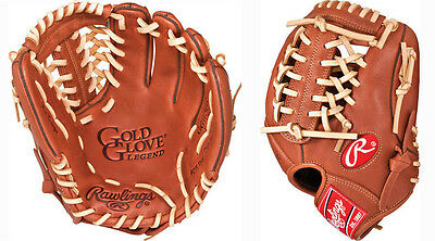 "Rawlings GG115BRL 11.5"" Gold Glove Legend Baseball Glove New In Wrapper w/ Tags!"