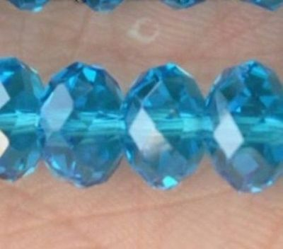 Fashion jewelry blue 50pcs 12x10mm Swarovski Crystal Loose Beads