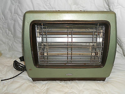 Vintage RETRO 1960s Electric HEATER by BELLING Heating Kitsch