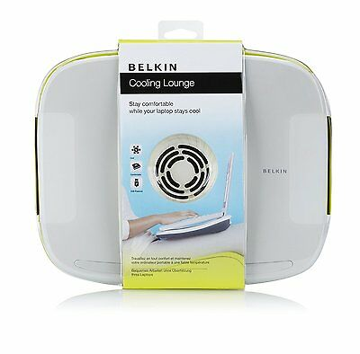 "Belkin CoolSpot Padded Laptop Cooling Lounge for Laptops / MAC up to 17"" NEW"