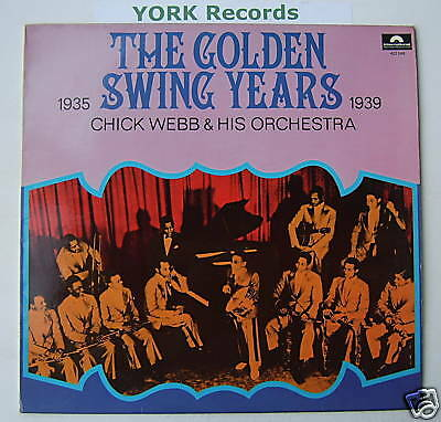 CHUCK WEBB - The Golden Swing Years - Ex Con LP Record