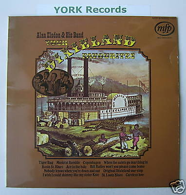 ALAN ELSDON - Your Dixieland Favourites - Ex LP Record