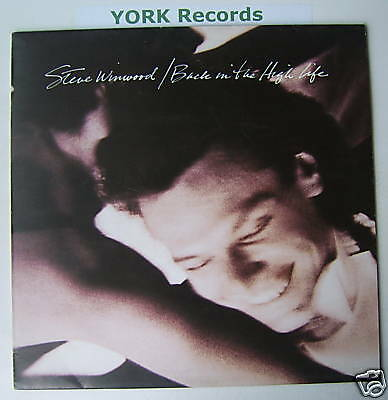 STEVE WINWOOD - Back In The High Life - Ex LP Record