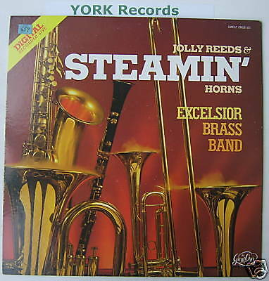 EXCELSIOR BRASS BAND - Jolly Reeds ... - Ex Con LP