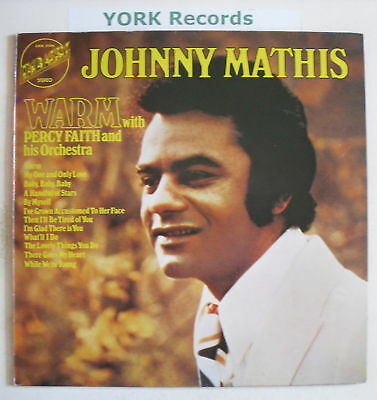 JOHNNY MATHIS - Warm - Excellent Condition LP Record