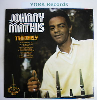 JOHNNY MATHIS - Tenderly - Excellent Con LP Record