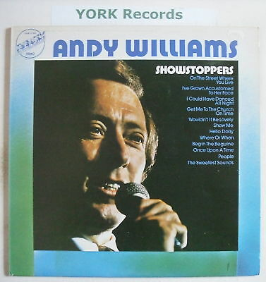 ANDY WILLIAMS - Showstoppers - Excellent Con LP Record