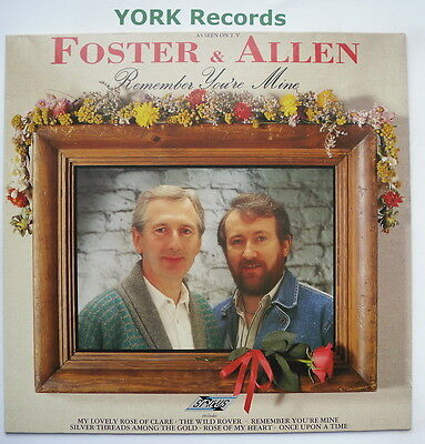 FOSTER & ALLEN - Remember You're Mine - Excellent Con LP Record Stylus SMR 853
