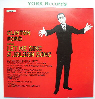CLINTON FORD - Let Me Sing A Jolson Song - Ex Con LP Record Chevron CHVL 142