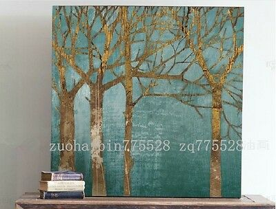"""24X24"""" Abstract Modern Canvas Oil Painting /Pure Hand-painted/ NO Frame    YHA38"""
