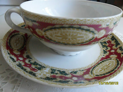 EDELSTEIN  DEMITASSE CUP & SAUCER MADE IN GERMANY