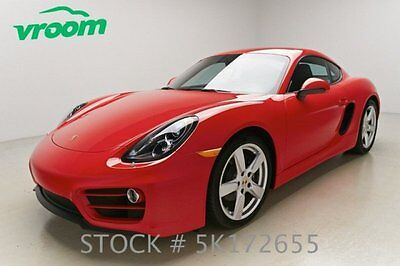 Porsche : Cayman Certified 2014 porsche cayman 2 k low mile cruise manual aux one 1 owner clean carfax vroom