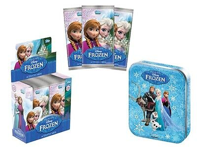DISNEY FROZEN TOPPS TRADING CARTE : Lot Initial Classeur/boite/ packs / cartes