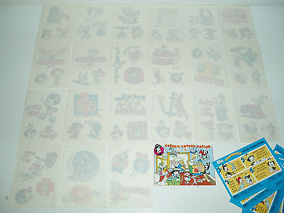 Topps Anmaniacs Warner Bros Tattoos + puzzle cards 1995