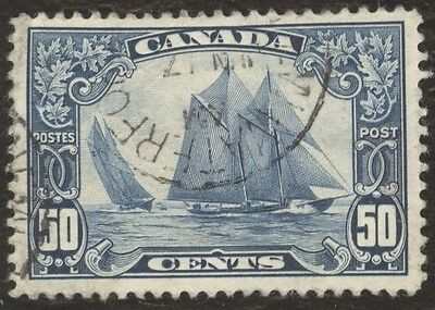 Stamp Canada, # 158, 50¢, 1929, lot of 1 used stamp.