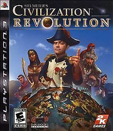 SID MEIER'S CIVILIZATION REVOLUTION SONY PLAYSTATION 3 PS3 GAME COMPLETE