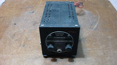Vintage Setchell Carlson Military Radio Mo. 524 Neat item!Untested!!Complete!