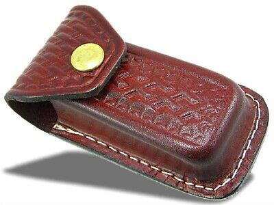 Extra Large Swiss Army knife Style Leather Pouch Sheath Fits Victorinox Champ