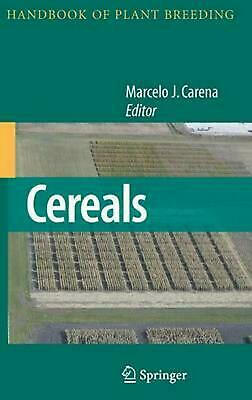 Cereals (English) Hardcover Book Free Shipping!