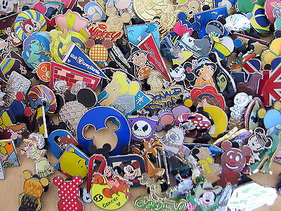 Disney Hidden Mickey Cast Lanyard pin LOT of 75 Pins NO DOUBLES ~ FREE Shipping