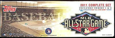 2011 TOPPS Complete Baseball 660 Card FACTORY SEALED All Star Box SET Series 1 2