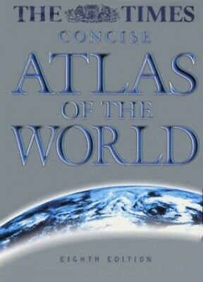 """""""The Times"""" Concise Atlas of the World Hardback Book The Cheap Fast Free Post"""