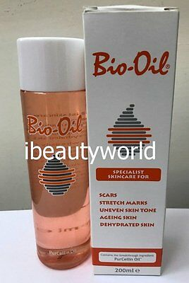 Bio-Oil Specialist Skincare for Scars Stretch Marks Uneven Skin Tone Aging 200ml